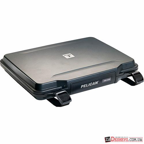Pelican 1085 Hardback Laptop Computer Case with Foam - Black (1080-020-110)