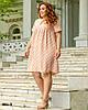 Легке жіноче плаття літнє розміри 50-54, фото 5