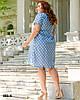 Легке жіноче плаття літнє розміри 50-54, фото 8