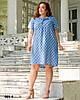 Легке жіноче плаття літнє розміри 50-54, фото 7