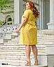Легке жіноче плаття літнє розміри 50-54, фото 9