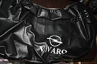 Чехол на капот на Opel Vivaro 2001-> (кожзаменитель)