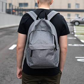 Чоловічий рюкзак mod.StuffBox GRAY сірий WLKR