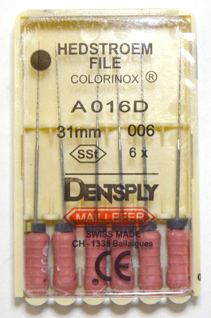 H-File 31мм, уп.6шт, №006, Dentsply Maillefer