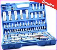 Набор инструментов 108 предметов Набор ручных инструментов для авто и дома