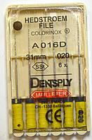 H-File 31мм, уп.6шт, №020, Dentsply Maillefer