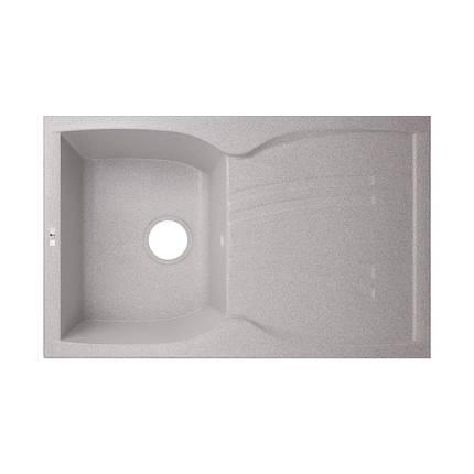 Кухонная мойка Lidz 790x500/200 GRA-09 (LIDZGRA09790500200), фото 2