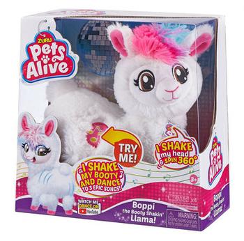"""Интерактивная игрушка """"Танцующая лама"""" Zuru Pets Alive"""