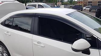 Дефлекторы окон Toyota Corolla 2019 -