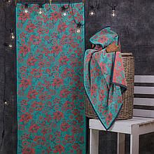 Полотенце махровое ТМ Речицкий текстиль 67*150 см Цветы