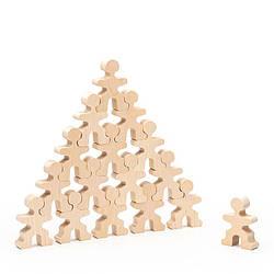 Конструктор Пряничні чоловічки дерев'яний