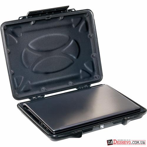 Pelican 1085CC Hardback Laptop Computer Case with Laptop Liner - Black (1080-023-110)