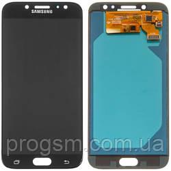 Дисплей Samsung J7 2017 SM-J730F в комплекте с подсветкой Black