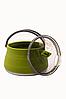 Чайник Tramp сіліконовий з металевим дном 1л олива TRC-125, фото 2