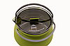 Чайник Tramp сіліконовий з металевим дном 1л олива TRC-125, фото 3