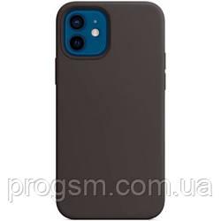 Чохол Sillicon Case для iPhone 12, iPhone 12 Pro Black