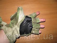 """Перчатки-варежки флисовые камуфлированные """"A-TACS FG"""""""