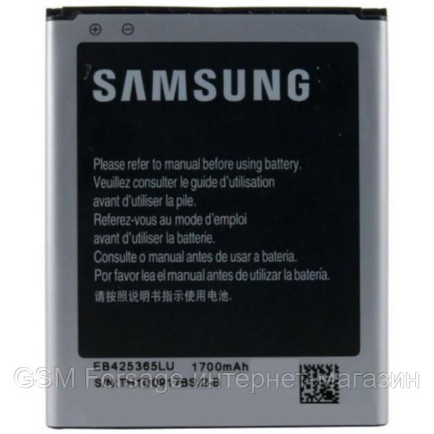 Акумулятор Samsung Galaxy Core GT-I8262, I8268, SM-G350, B150AC, A150AE, EB425365LU (1800 mAh)