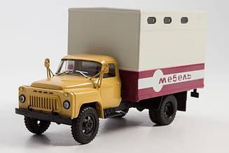 Легендарні Вантажівки №42 ГЗСА-893А | Колекційна модель в масштабі 1:43 | Modimio