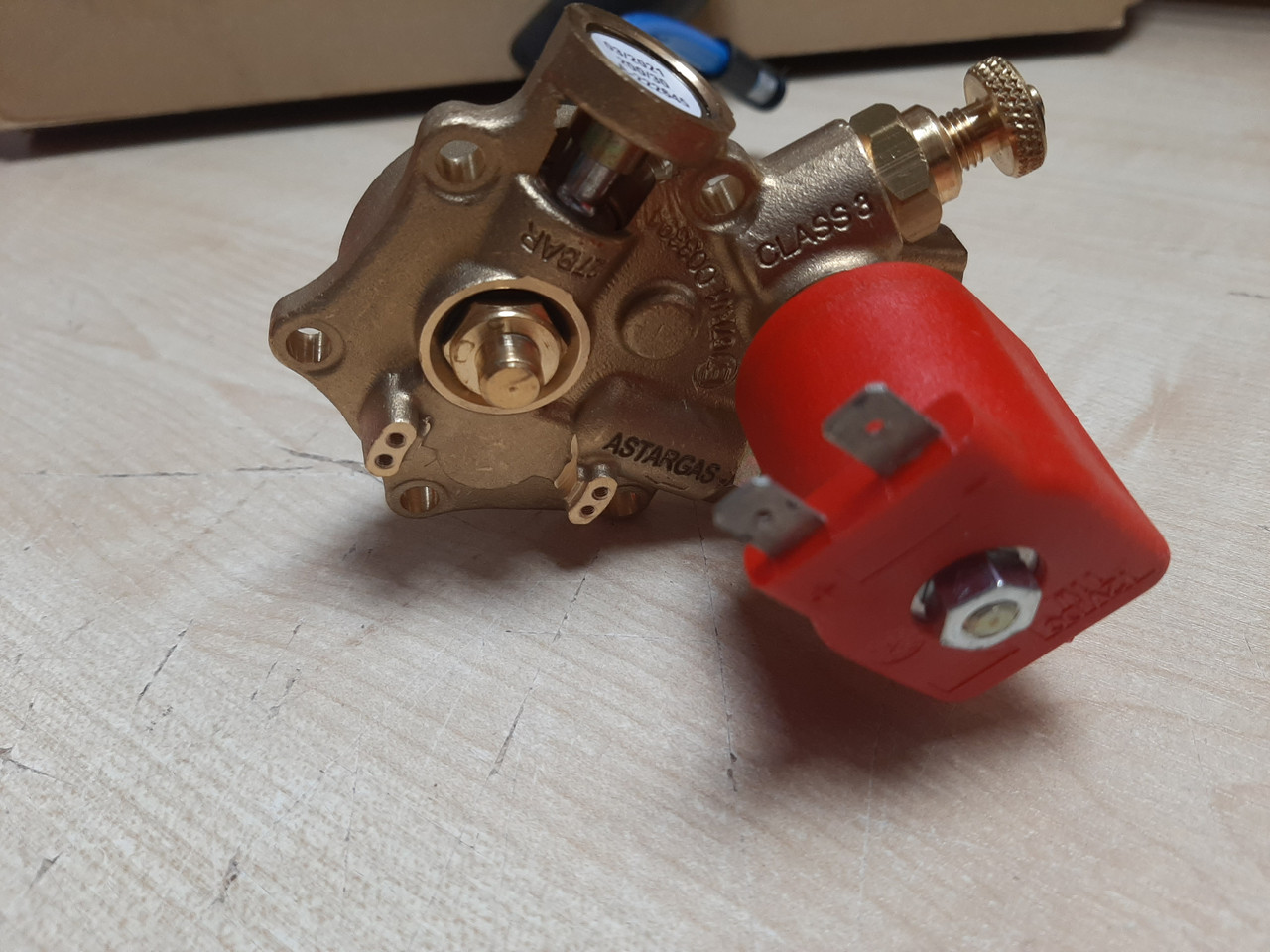Мультиклапан AstarGas ТОР зовнішній 200/204 /0 з котушкою M00015 AstarGas