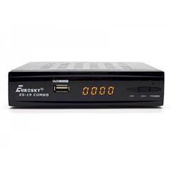 Комбінований ТВ-ресивер DVB-T/T2/S/S2 Eurosky ES-19 Combo HD