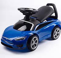 Детская машинка-каталка синяя