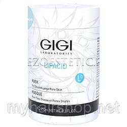 Маска для жирної крупнопористой шкіри GIGI Lipacid Mask for Oily and Large Pore Skin 250 мл