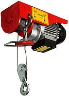 Таль лебедка электрическая 125/250 кг*6/12 м MASTERTOOL 86-9025