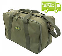 Рыбацкая сумка Acropolis РСФ-1 с коробками (фидерная, карповая)