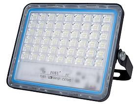 Прожектор LED FOYU на сонячній батареї 120 Вт ! Використовується зовні і всередині приміщення !
