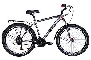 """Велосипед міської 26"""" Formula Magnum 2021 рама 19"""" сірий з червоним"""
