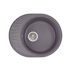 Кухонна мийка Qtap CS 6151 GRE (QT6151GRE471)