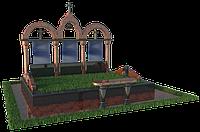 Установка мемориального комплекса