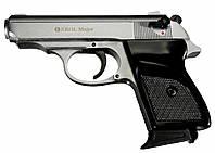 """Пистолет стартовый EKOL """"MAJOR"""" 9мм хром(1420.00.04)"""