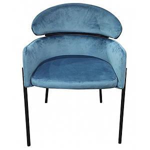 Кресло Тринити синий ТМ Prestol