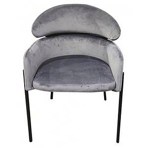 Кресло Тринити серый ТМ Prestol