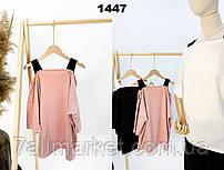 """Блузка жіноча молодіжна, оригінальна розмір універсал (3ол) """"BLUZKA"""" недорого від прямого постачальника"""