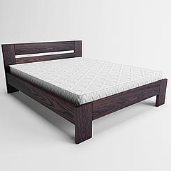 Ліжко дерев'яне двоспальне Лондон (масив ясеня)