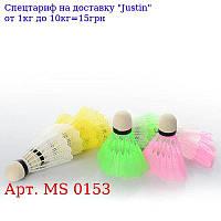 Воланчик MS 0153 кольоровий пластик,  1 упаковка 12шт (4цвета),  в кульку,  38-10-4см