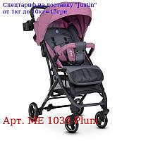 Коляска детская ME +1039 IDEA Plum прогулочная,  книжка,  колеса 4шт,  чехол,  фиол,