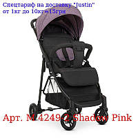 Коляска детская M 4249-2 Shadow Pink прогулочная,  книжка,  4положения спинки,  раз