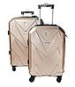 Маленький дорожный четырехколесный пластиковый чемодан, Ручная кладь, фото 3