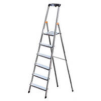 Лестница-стремянка KRAUSE Safety 6 ступеней (126344), фото 1