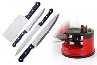 Точилка для ножей с присоской фиксатором, фото 1