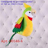 """М`яких іграшка """"Папуга Кеша"""",  Копиця 00546-4,  25x11x18"""