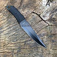 Нож метательный облегченный с черным клинком, фото 1