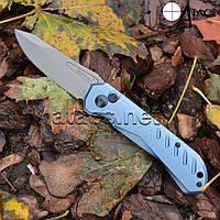 Нож выкидной рукоятка Titanium, фото 1