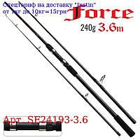 """Спінінг короповий штекер """"Force"""" 3, 6м 240г SF24193-3, 6"""