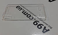 Накладка чехол силиконовая 0.3mm Lenovo K3 (K30t / K30w) прозрачная
