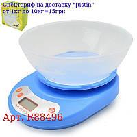 Весы кухонные электронные 0 ~ 5 кг 21 * 16 * 5, 5см R88496